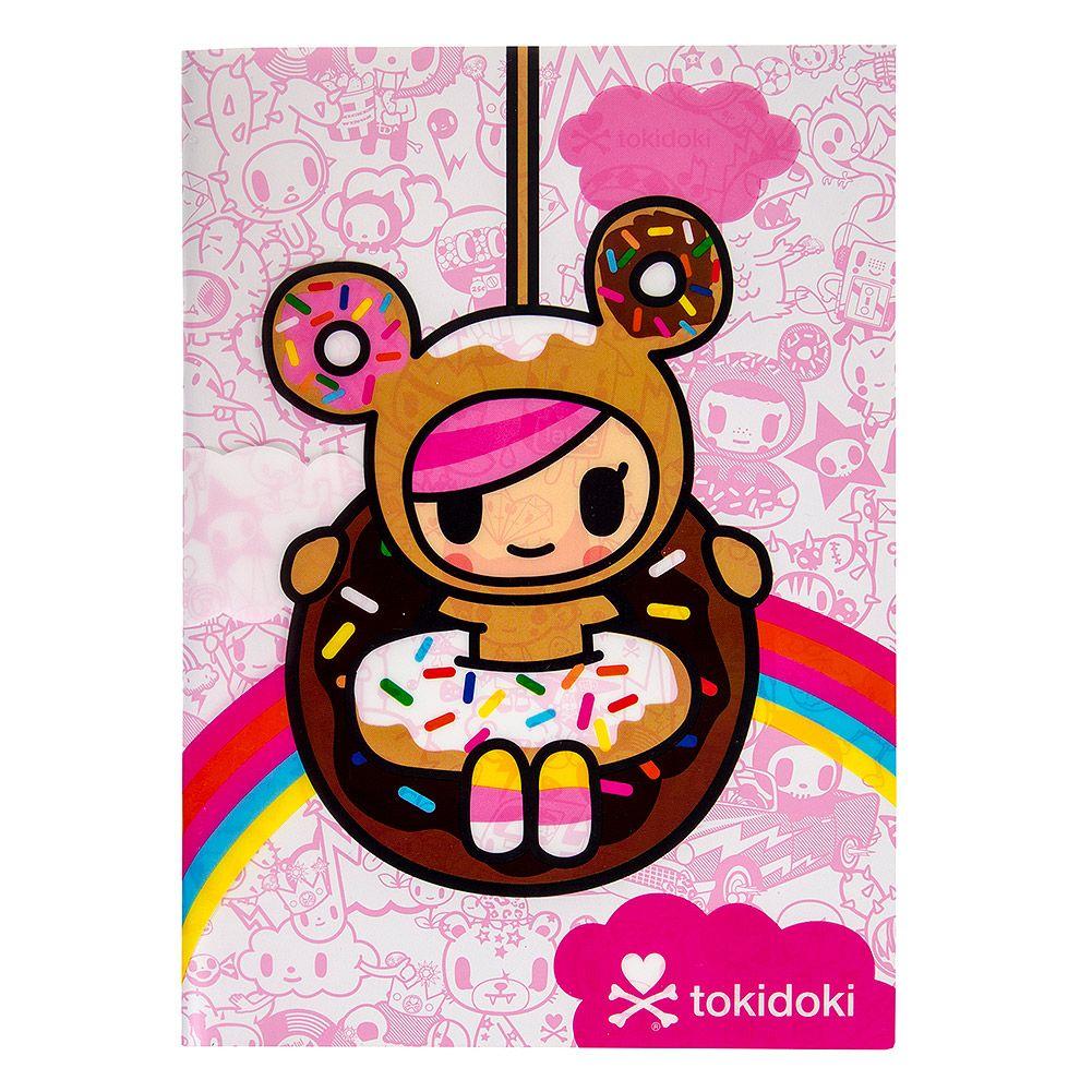 tokidoki donutella a5 notebook pink - Tokidoki Donutella Coloring Pages