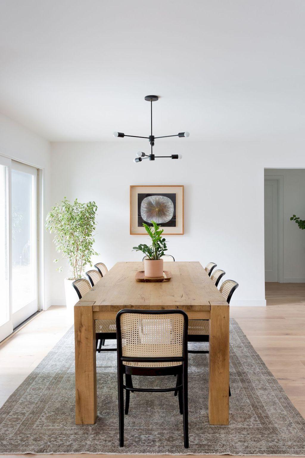 70 Farmhouse Dining Room Table Decor Ideas