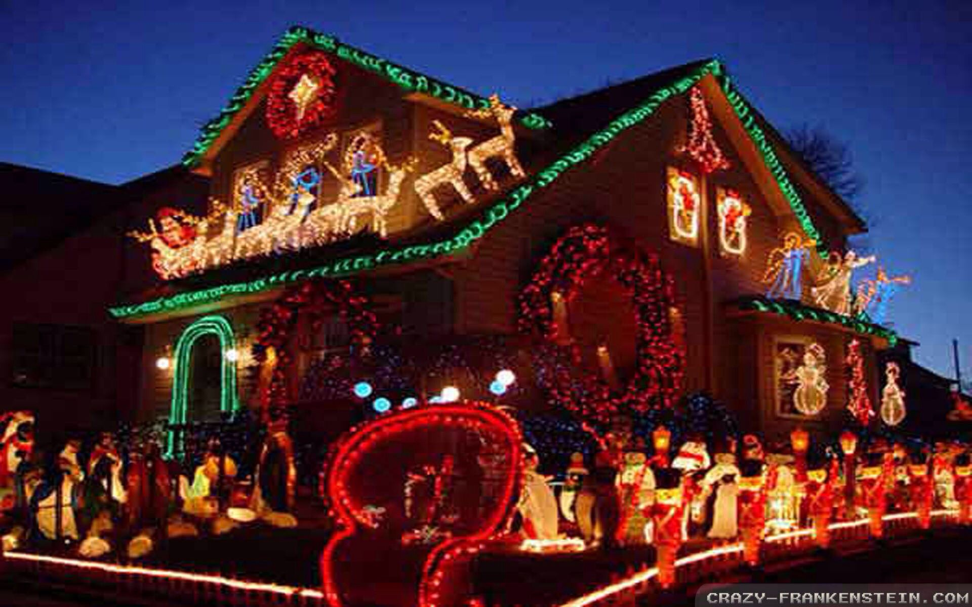explore outside christmas decorations and more - Christmas House Decorations Outside