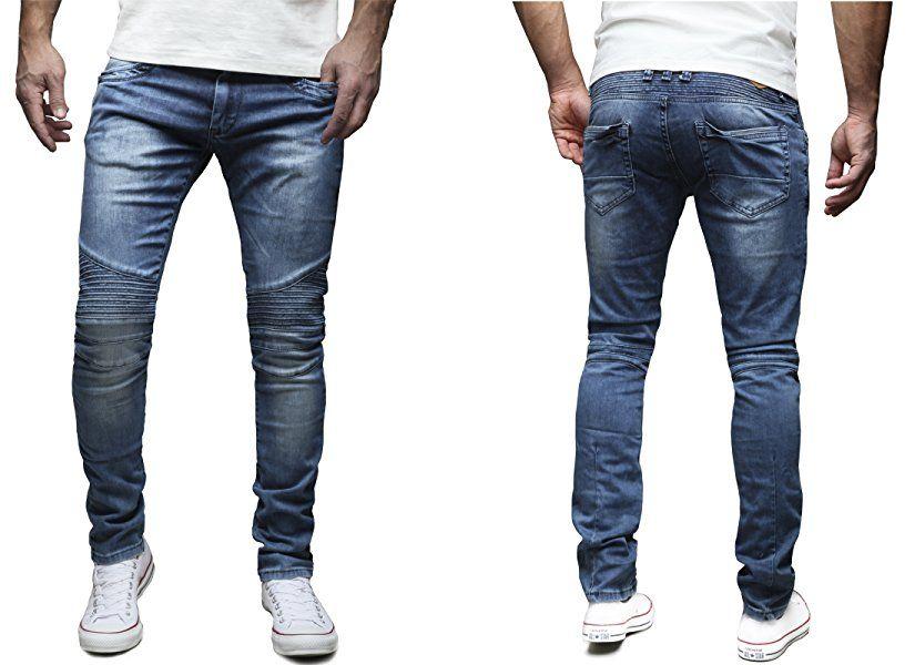 Slim fit hose jeans herren