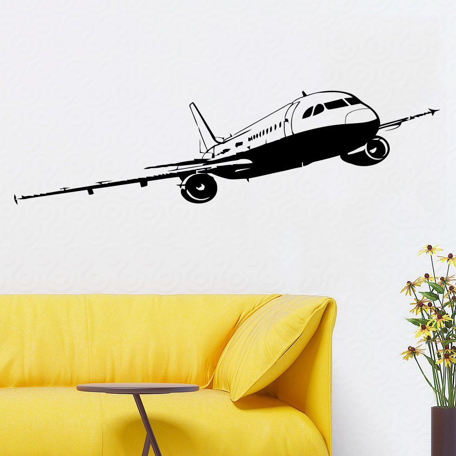 Wonderful Plane Wall Decor Images - The Wall Art Decorations ...
