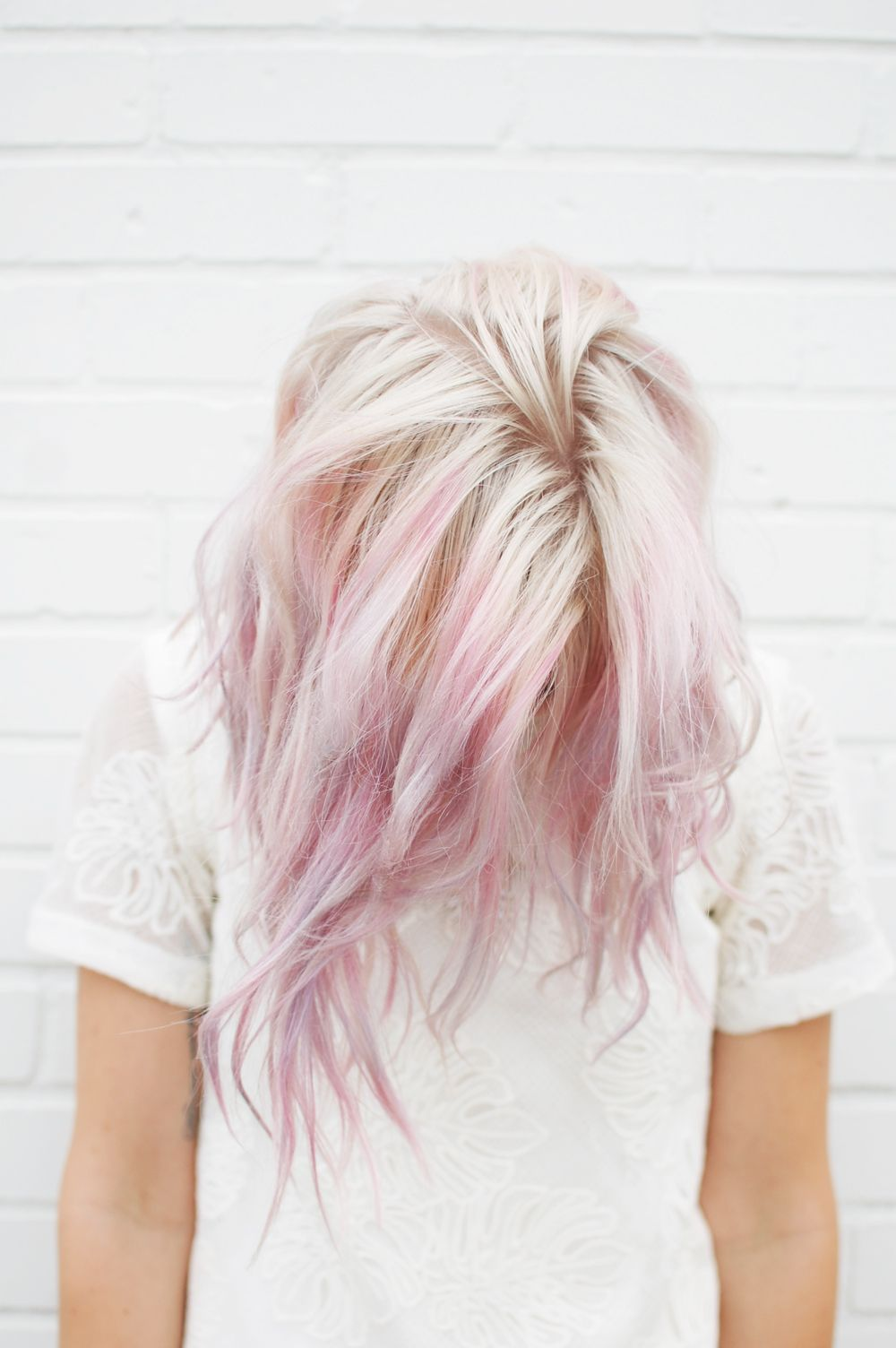 yummy u uber trending cotton candy hair color ideas Идеи для