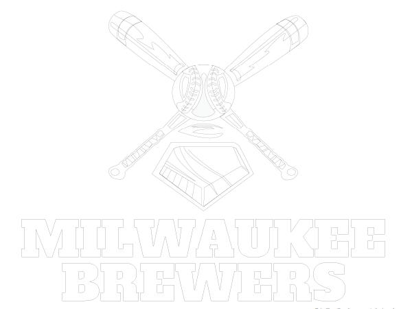printable milwaukee brewers coloring sheet