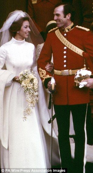 In The Limelight Princess Anne And Mark Phillips At Their 1973 Wedding