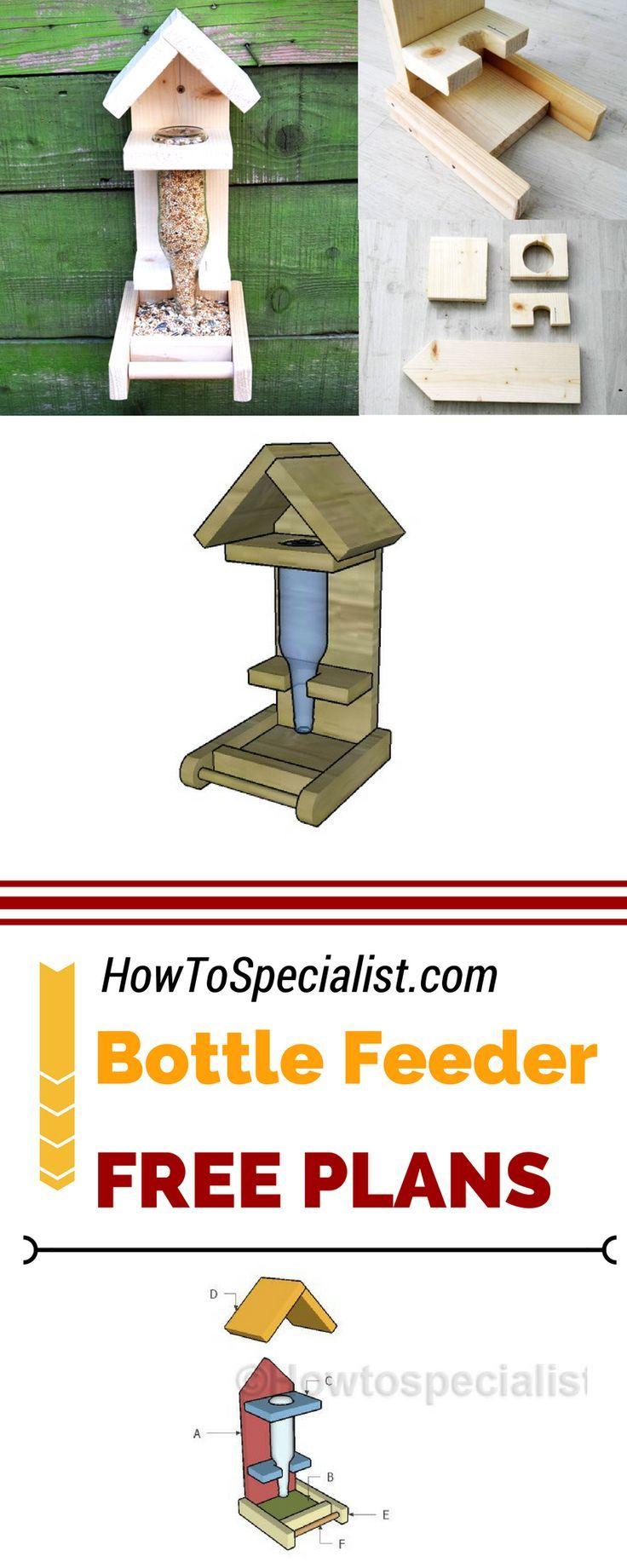 So bauen Sie eine Bottle Bird Feeder #vogelhausbauen