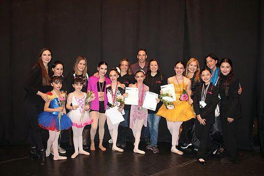 ARTERIA | Noticias Culturales | Es Tijuanense la única medallista de oro en todas las disciplinas en Concurso Internacional de Danza
