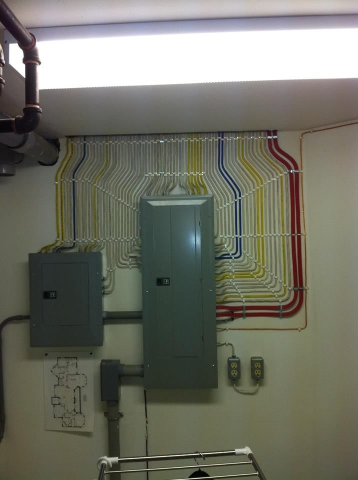 The Way These Cables Are Organised Organizing Wires Cable Management Electrician Humor