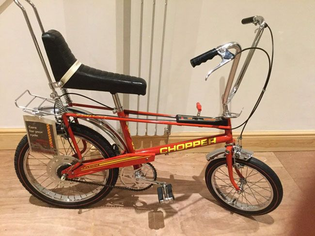 Ebay Watch Five Of The Best Original Raleigh Chopper Bikes Raleigh Chopper Chopper Bike Chopper