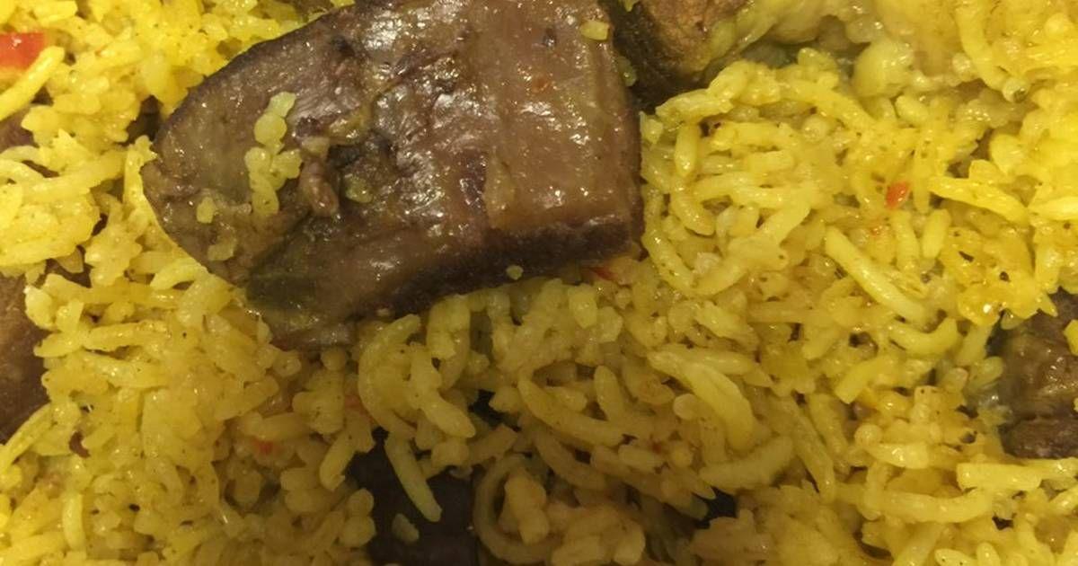 كبسة لحم بالصور من ذكــ ــريات Recipe Food Rice Grains