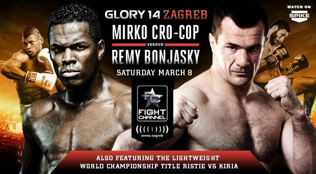 Glory 14 Zagreb Ufc Fighters Zagreb Glory