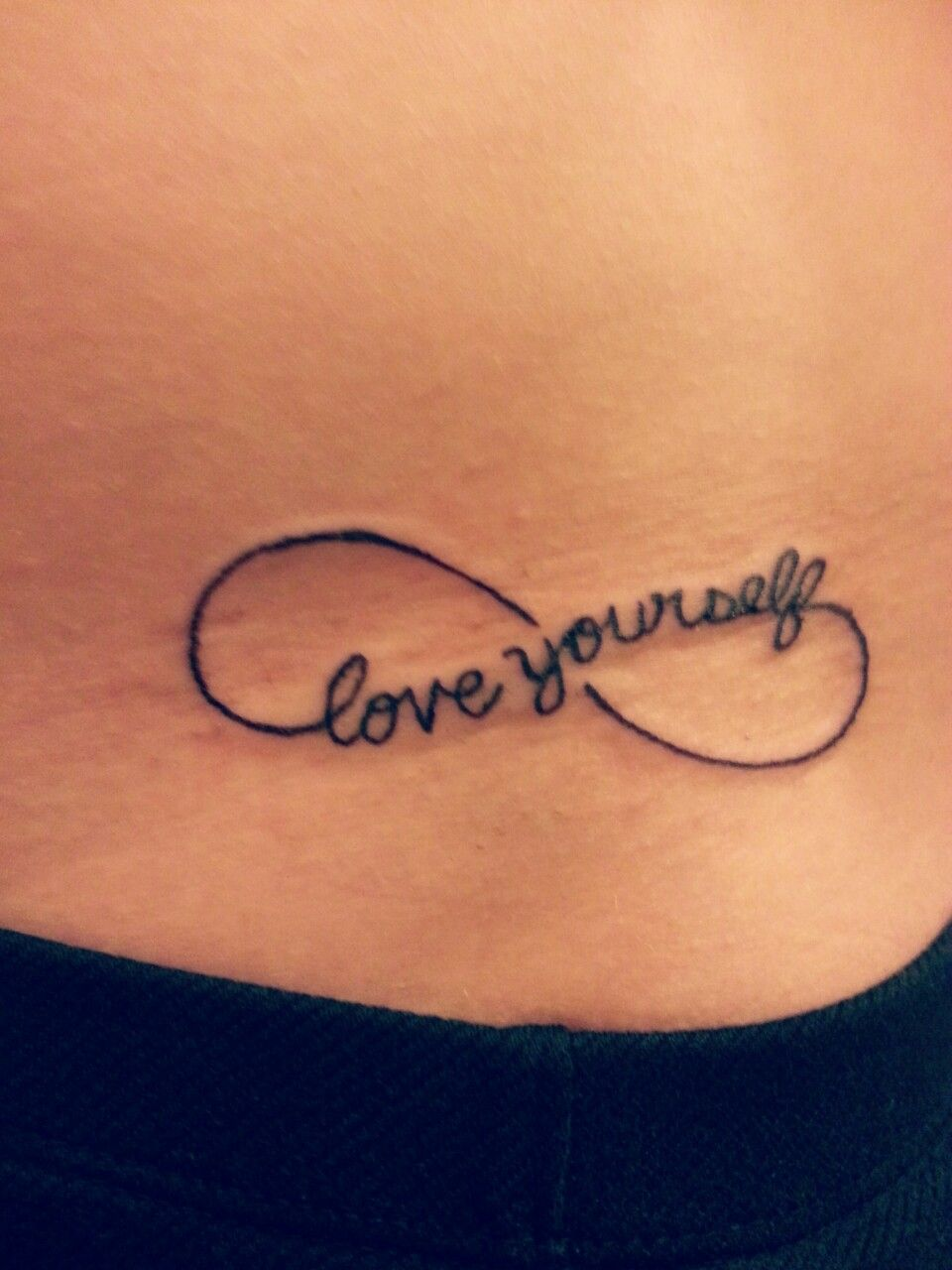 Love Yourself Tattoos And Piercings Infinity Tattoos Infinity