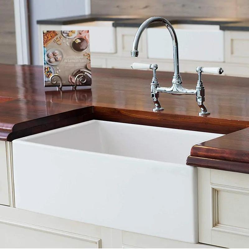 10 Farmhouse Kitchen Sinks That You Can Buy Right Now Farmhouse