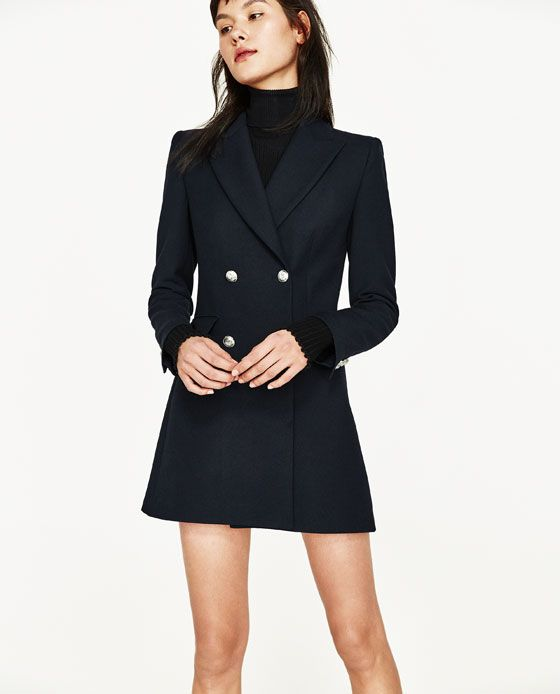 15b1007c Image 5 of from Zara | Threads | Frock coat, Fashion, Blazer dress