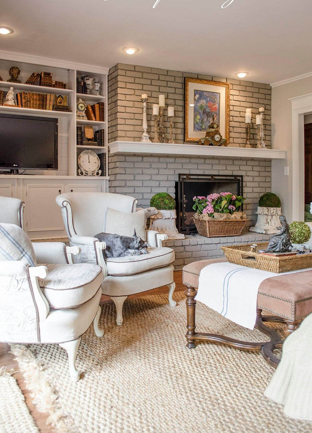 25 Cosy Modern Rustic Decor Designs for Living Room in ...