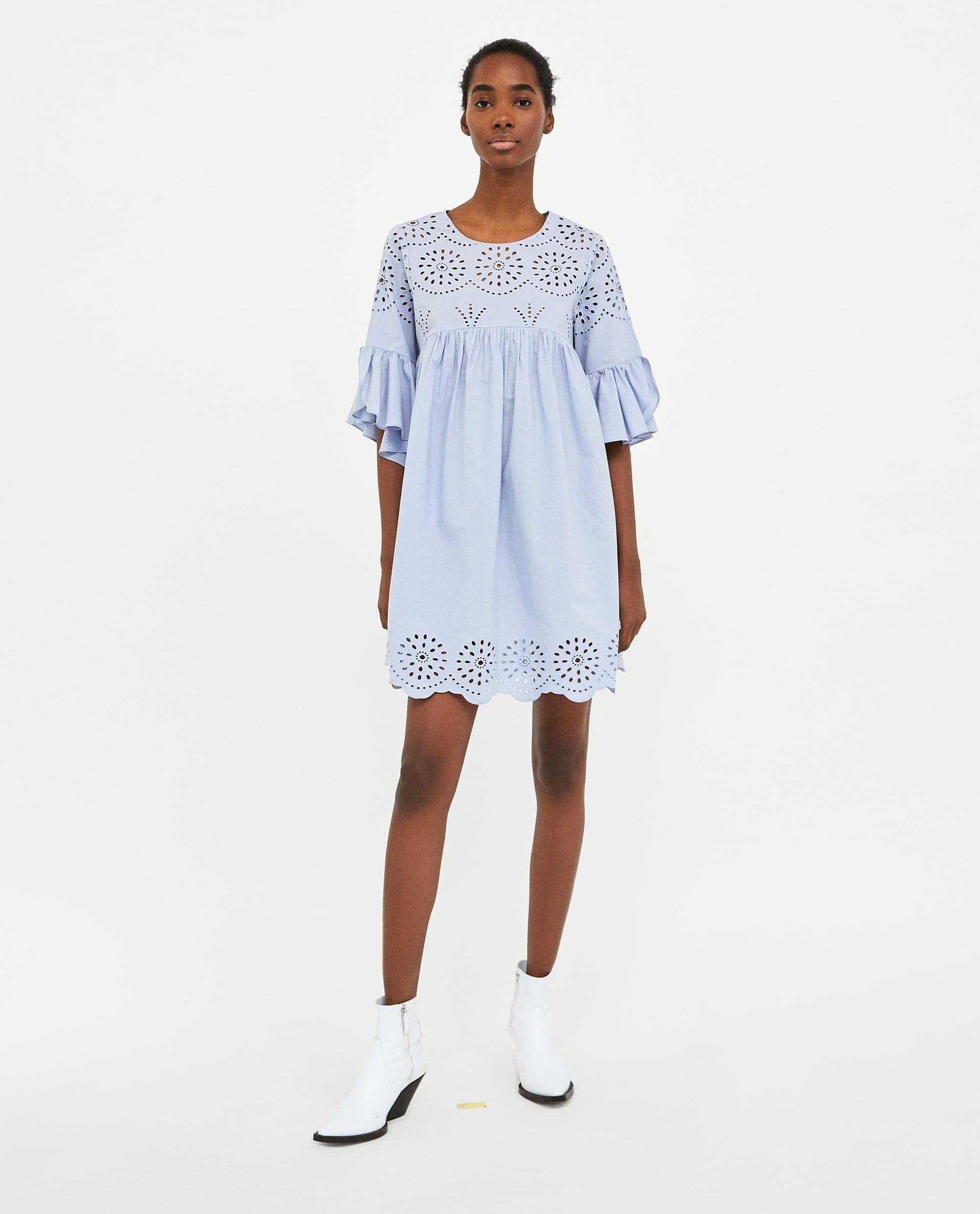carino e colorato vendite calde all'ingrosso online VESTIDO PERFORADO BORDADO nel 2019 | clothes to buy ...