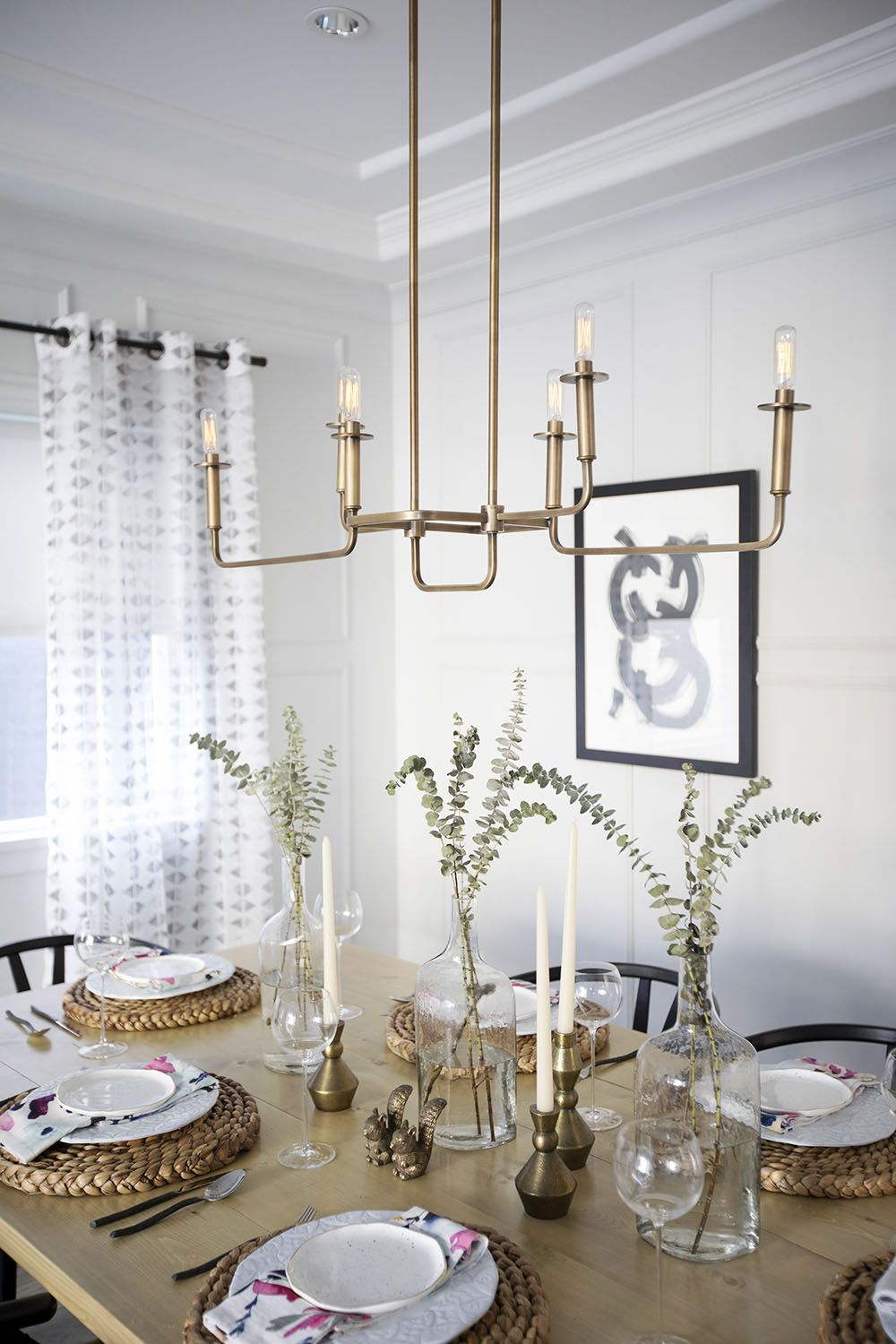 Dining Room Table Details Love This Light Fixture