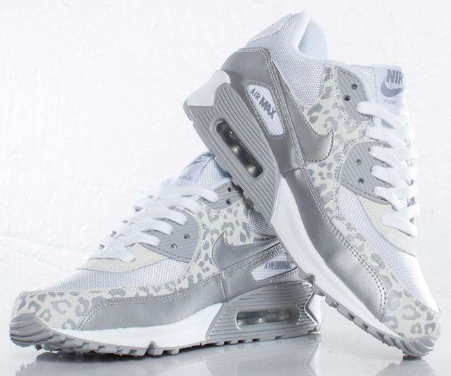"""b70bec9f6c06 nike air max snow leopard   Nike WMNS Air Max 90 """"Snow Leopard""""    KicksOnFire.com"""