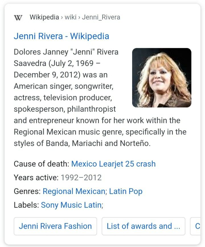 Idea by Marlyn Lopez on Memorial Wall of Death   American ... Jenni Rivera Funeral Services