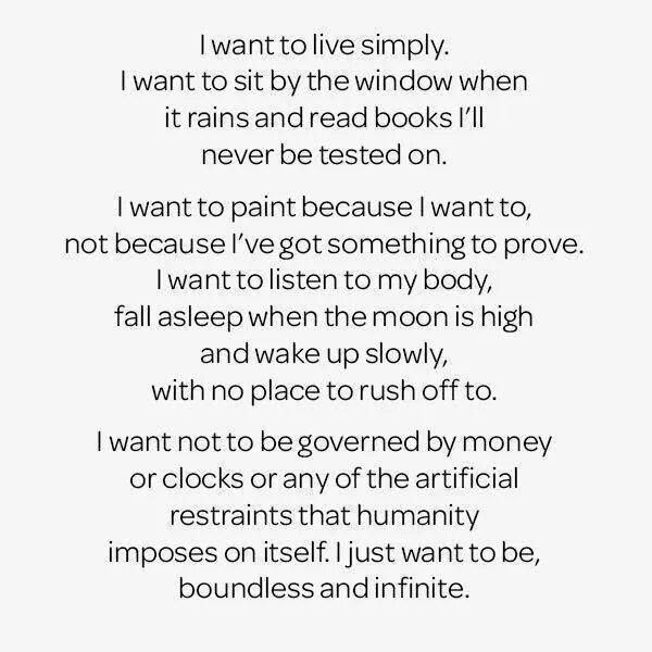 I Just Want To Be Boundless And Infinite Live Simply Pretty Words Words