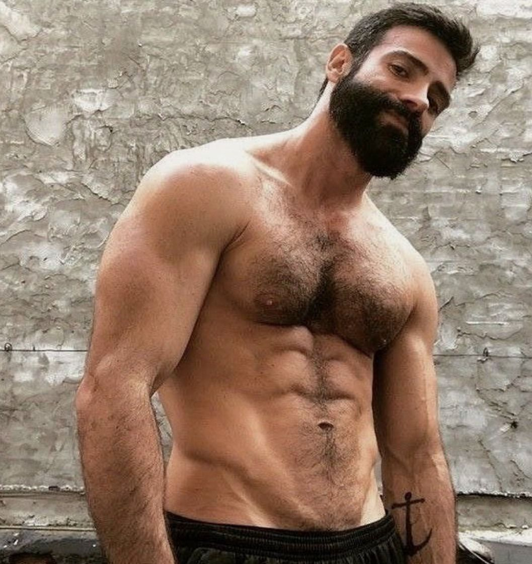 Hairy Chest Fetish