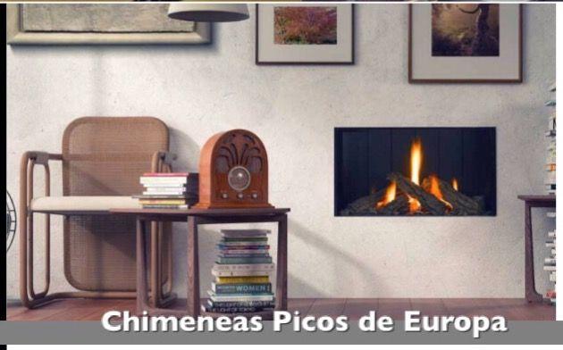 Chimenea, un elemento decorativo el el diseño y mobiliario de este