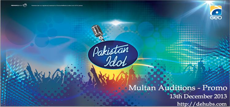 Multan Auditions - Promo, Pakistan Idol   Music   Idol tv, Indian