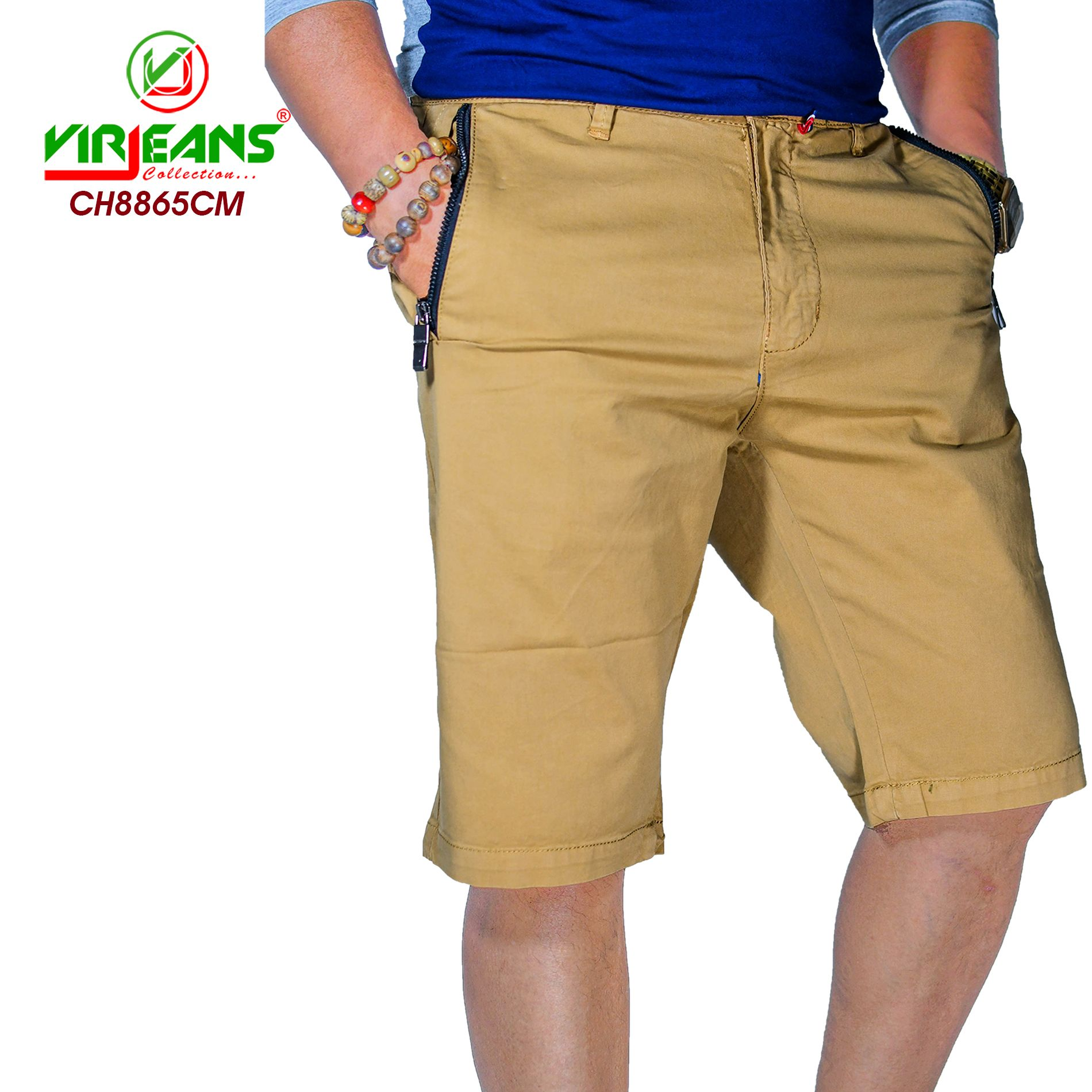 Virjeans Top Nepali Product Men S Shorts Cotton Half Pant Ch 8865 Cream In Nepal Fashion Pants Mens Shorts Fashion