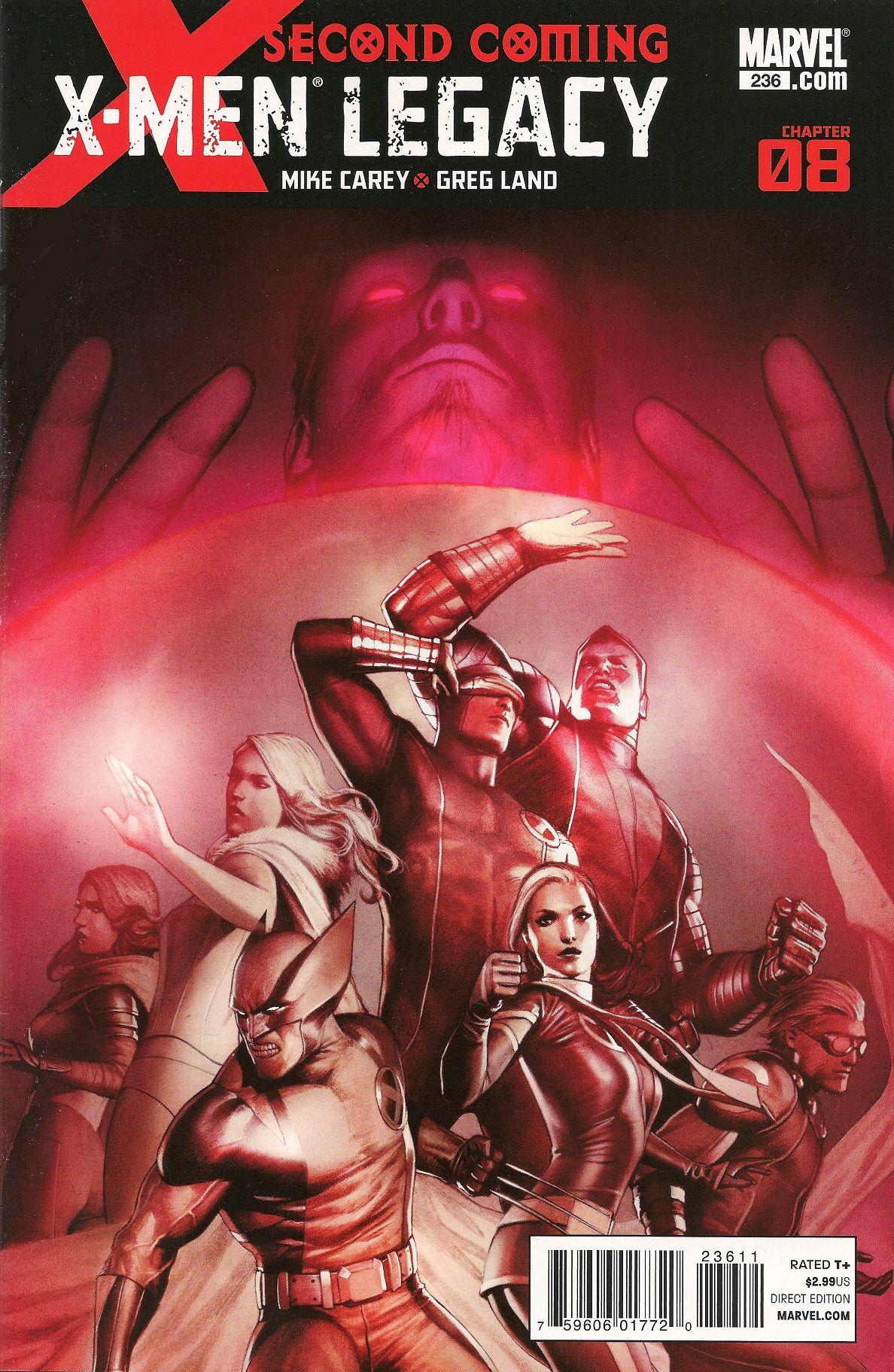 X Men Legacy Vol 1 236 X Men Marvel Marvel Comics