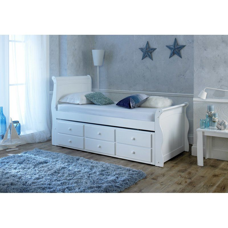 Captain Daybed Bed Frame With Mattress Bedroom Decor Daybed