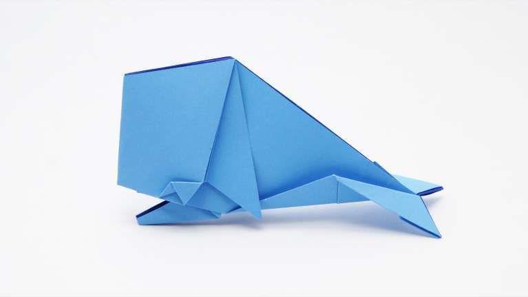Libellula Blue Kit origami modulare 3D
