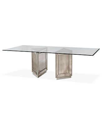 Summerize Your Home With A Sy Art Deco Table Sophia Dining 96 Mirrored Furniture Now