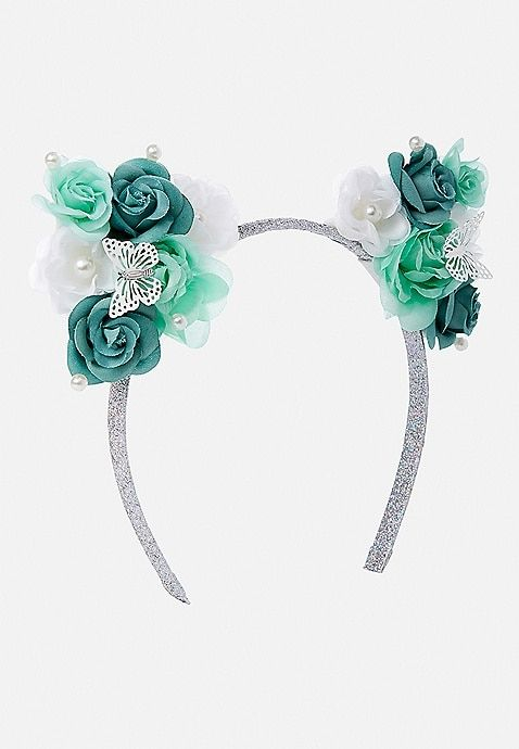 Girl's Hair Accessories Sporting Party Supplies Girlss Cat Ears Headbands Crown Tiara Princess Plastic Animal Hair Band Butterfly Bow Hoop Accessories Headwear