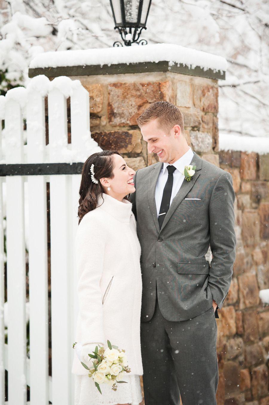 Intimate Winter Wedding At City Hall Courthouse Wedding Dress Winter Wedding Dress Courthouse Wedding