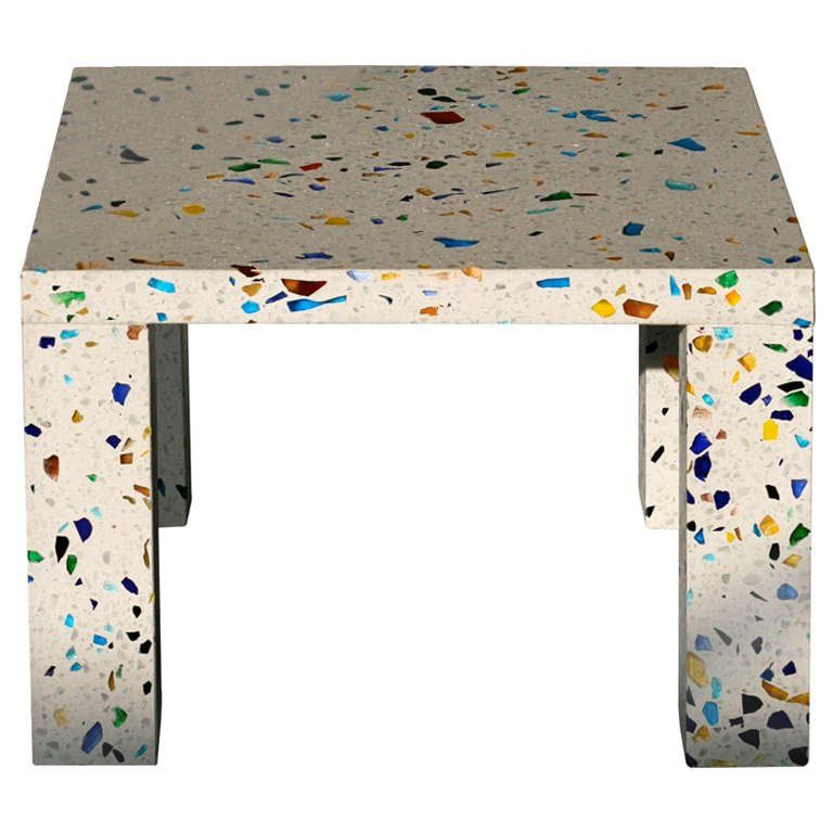 colorful terrazzo coffee table is a very eye catchy idea | Terrazzo ...