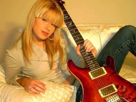 Orianthi From Michael Jackson And Alice Cooper S Bands Other