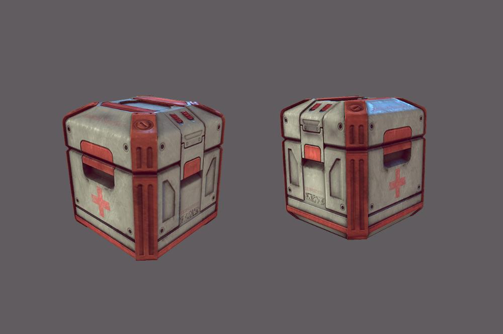 Loot Box Concept Art Google Search Sci Fi Props Crates Game Props