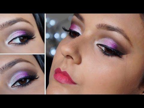 Maquiagem com Sombra 3D - Por Jéssica Freitas - YouTube