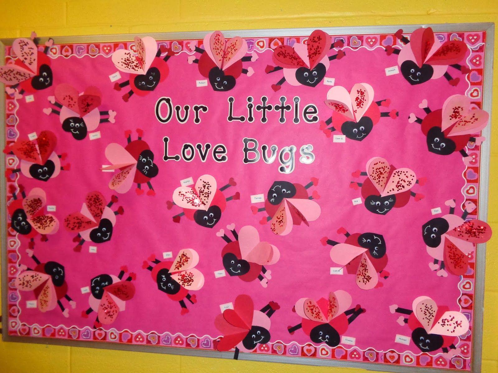 Valentine S Day Bulletin Board Terrific Preschool Years