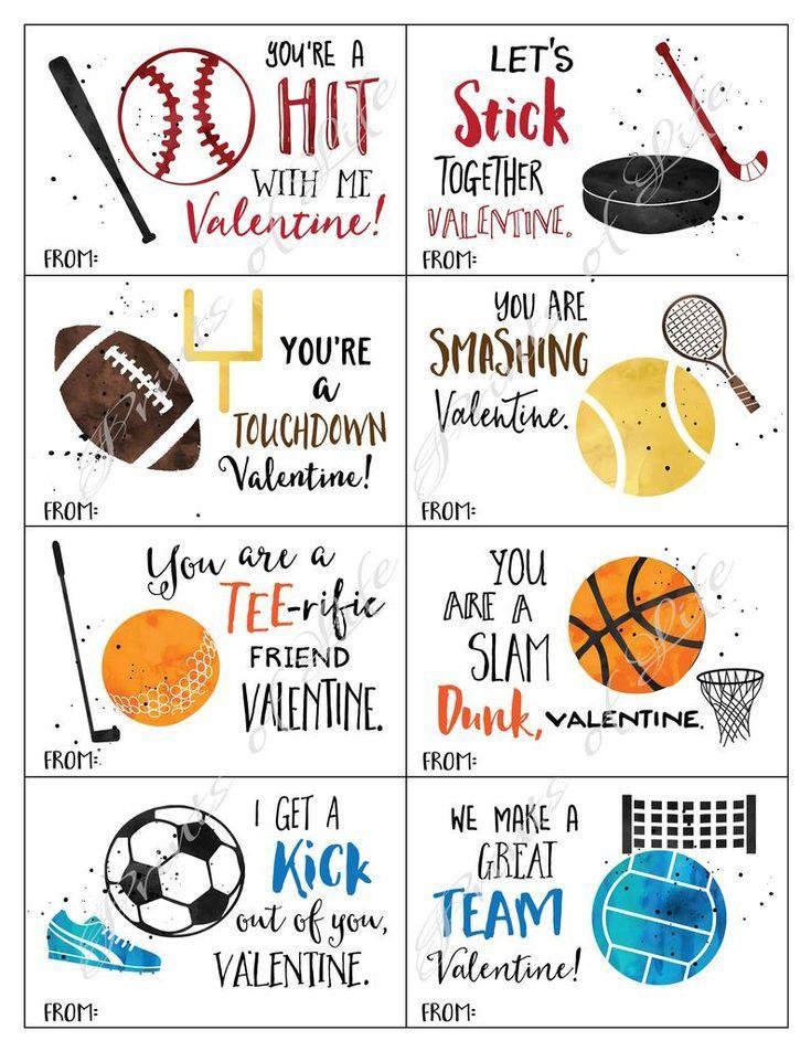 Valentine Box Sports Valentine Day Ideas