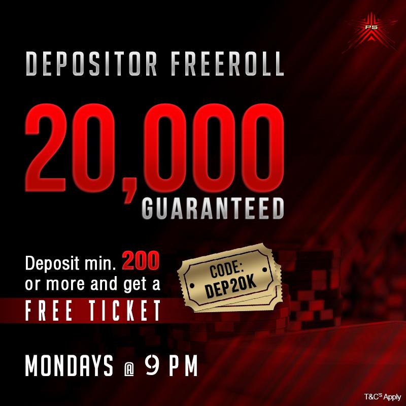 Depositors Freeroll Online poker, Poker, Poker hands