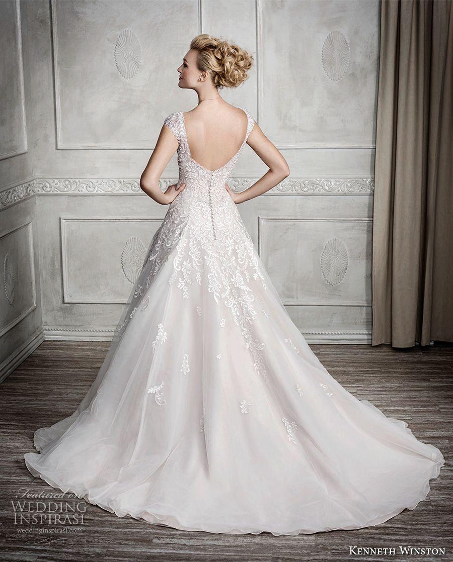 Kenneth winston fall wedding dresses bodice wedding dress