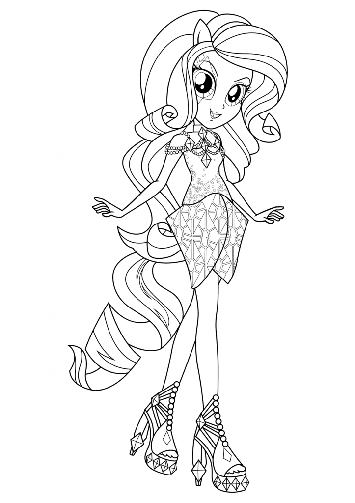 Equestria Girls Coloring Pages Coloring Pages Coloring Pages