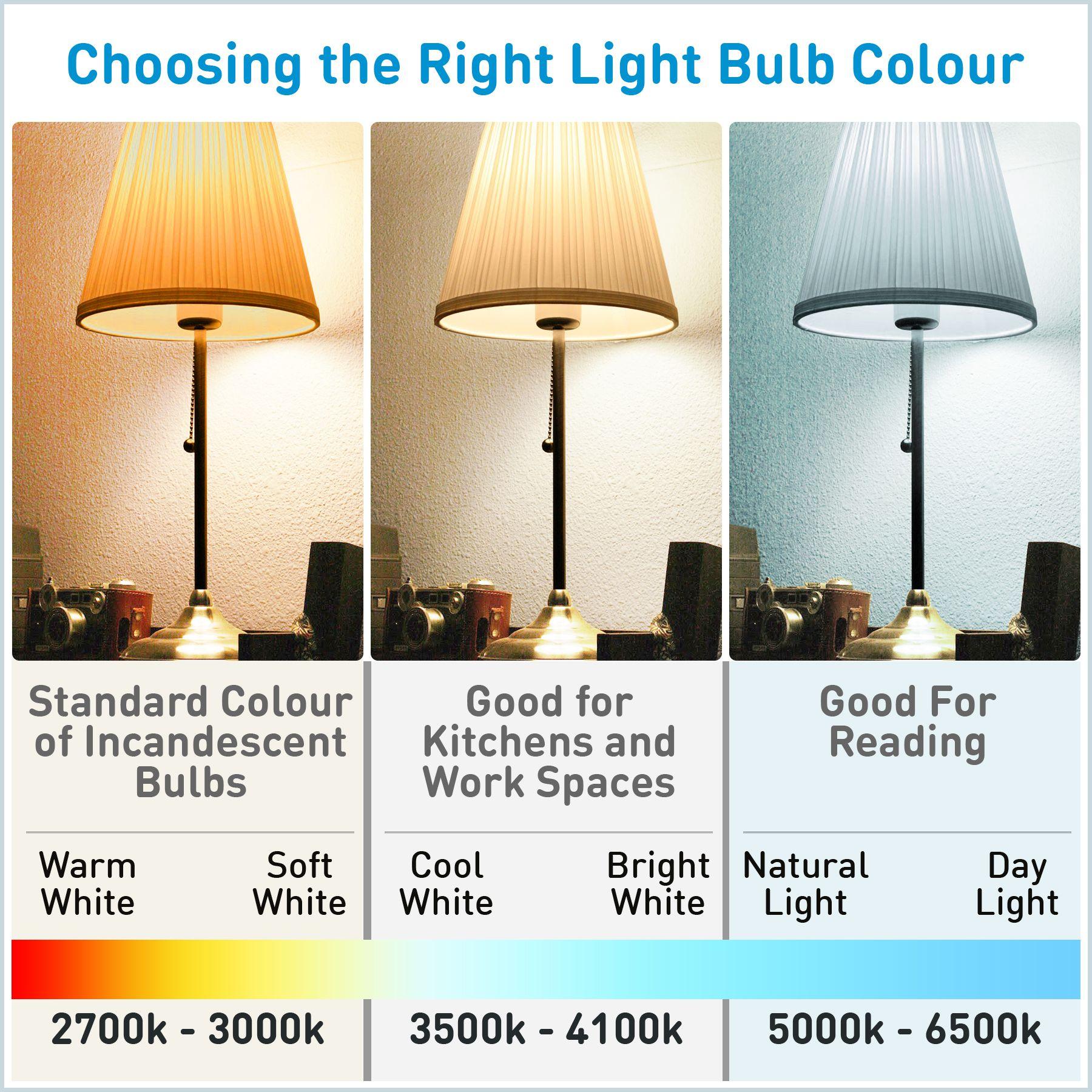 Light Bulb Selection White Light Bulbs Light Bulb