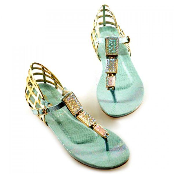 Casual Flip-Flop and Hollow Out Design Sandals For Women found on dresslily.com