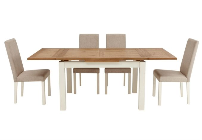 Table And 4 Chairs Compton Gorgeous Dining Room Furniture Only