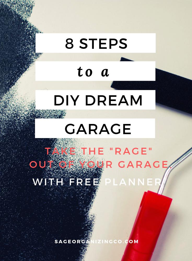 Clutter Puts The Rage In Garage 6 Diy Steps To Organize Your Garage Cleaning Hacks Organization Blog Organization
