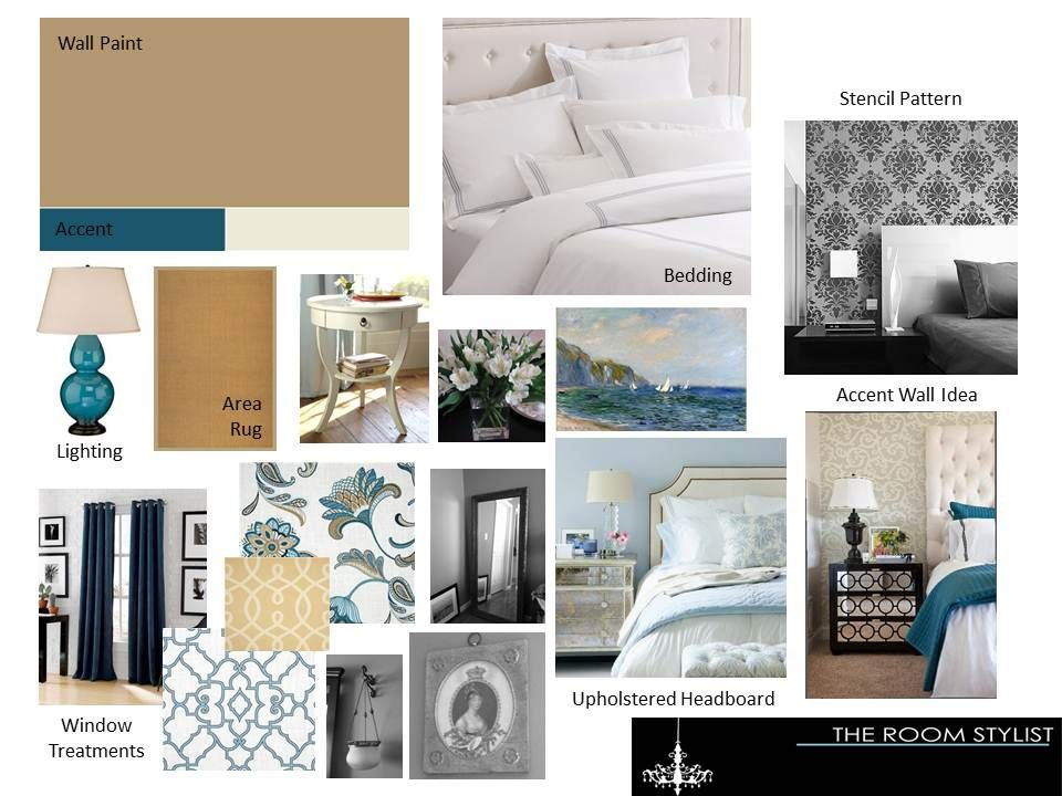 The Room Stylist Concept Boards