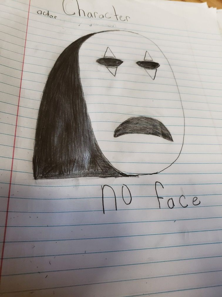 No Face Art Poster Movie Posters