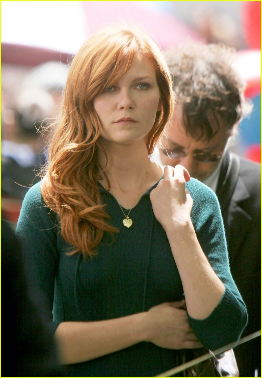3 kirsten dunst's hair in spider man 3 | spider-man. | pinterest