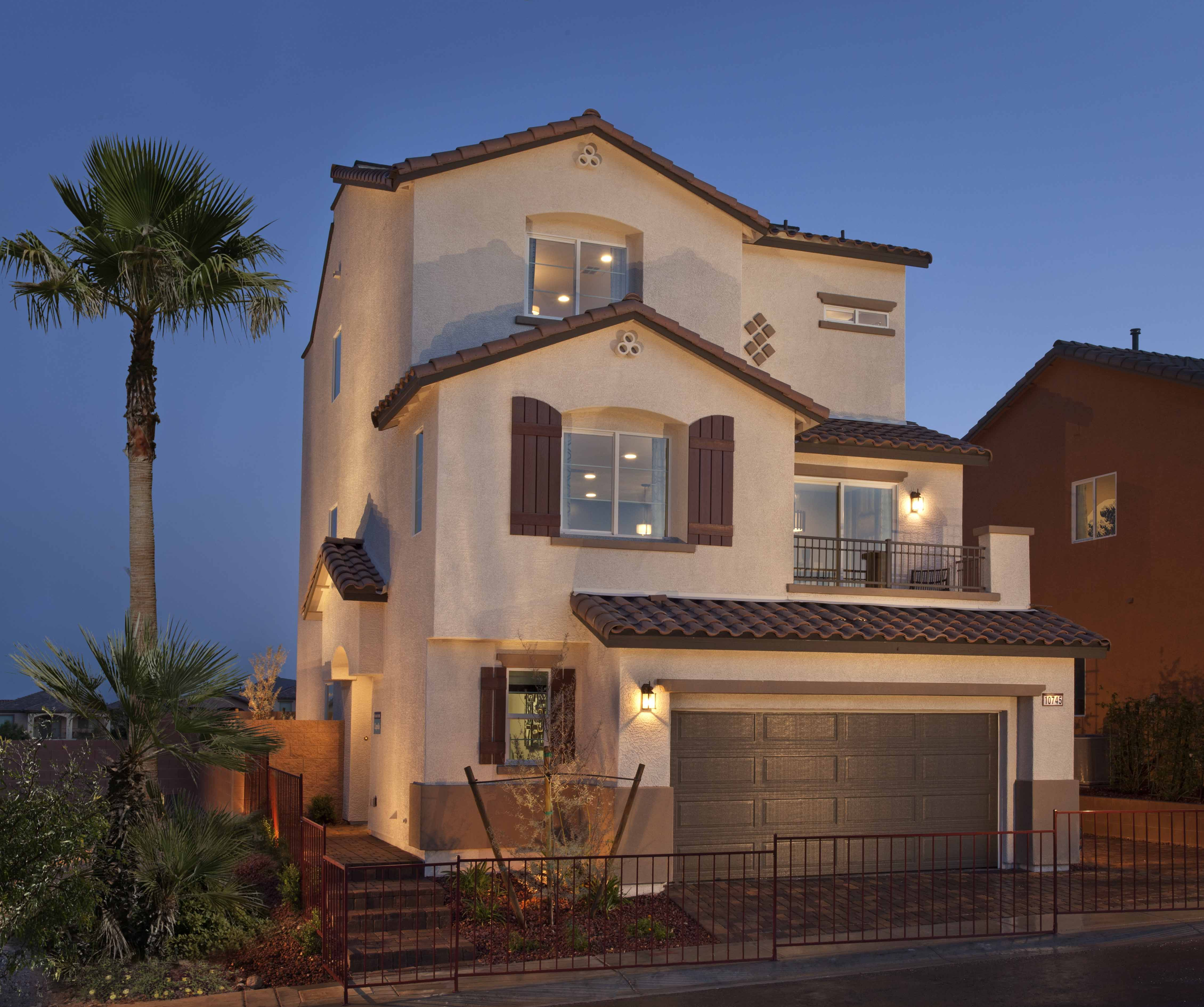 Exterior at verada view by ryland homes home deco for Ryland homes
